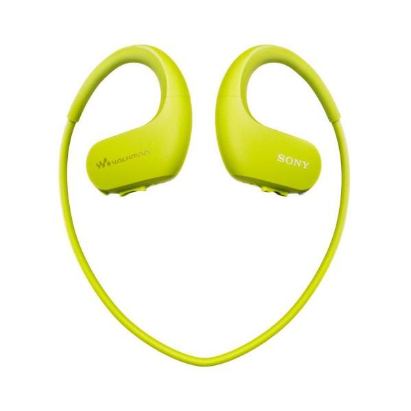 Sony nwws413g verde lima reproductor mp3 4gb / esport / acuático