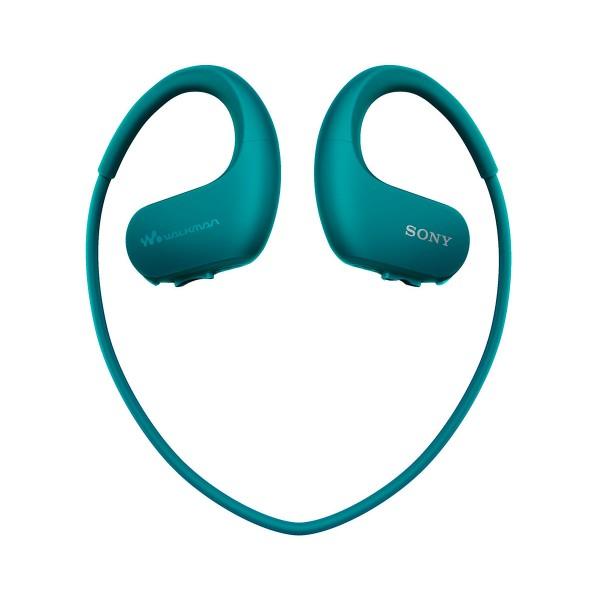 Sony nwws413l azul reproductor mp3 4gb / esport / acuático