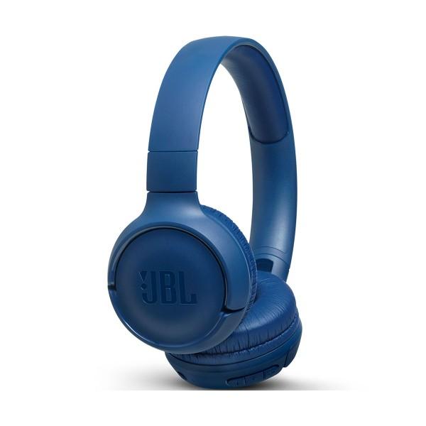 Jbl tune 500 bt azul auriculares inalámbricos bluetooth multipunto jbl pure bass