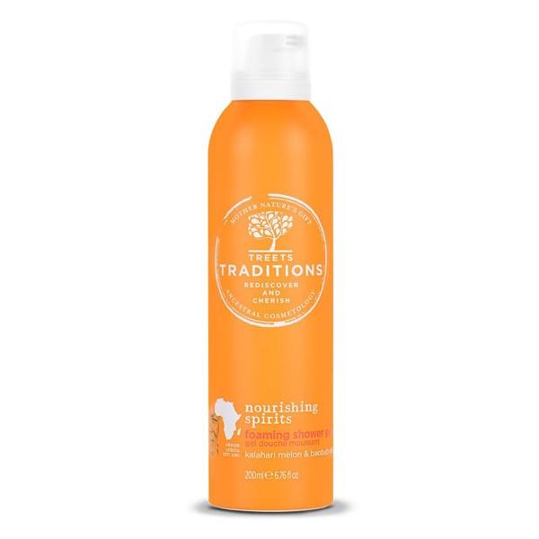 Treets nourishing spirits gel de baño espuma 200ml