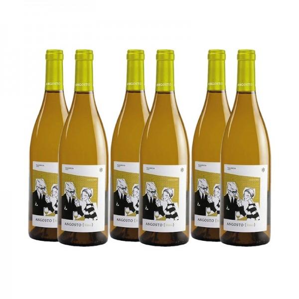 Angosto Blanco pack de 6 unidades vino blanco