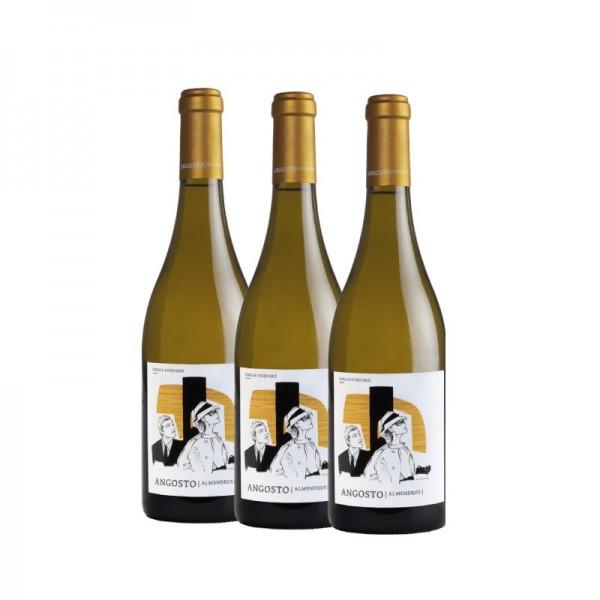 Almendros Blanco pack de 3 unidades vino blanco