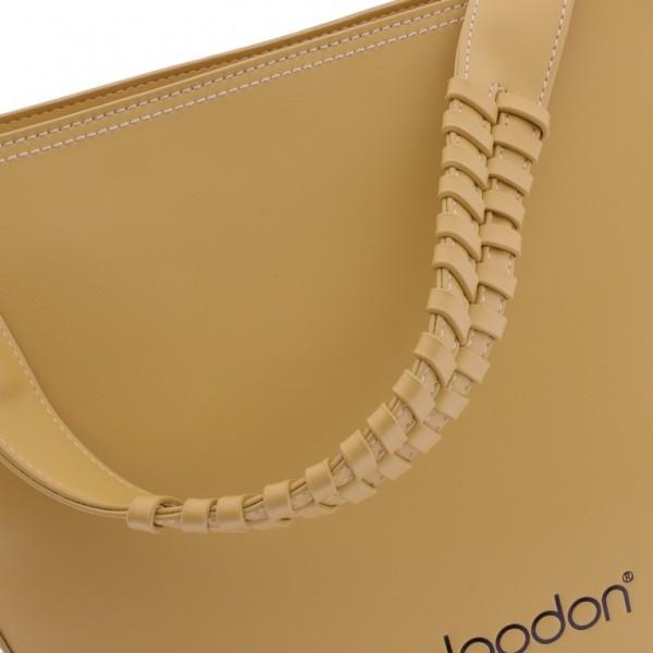 Bolso amarillo mostaza de don algodon