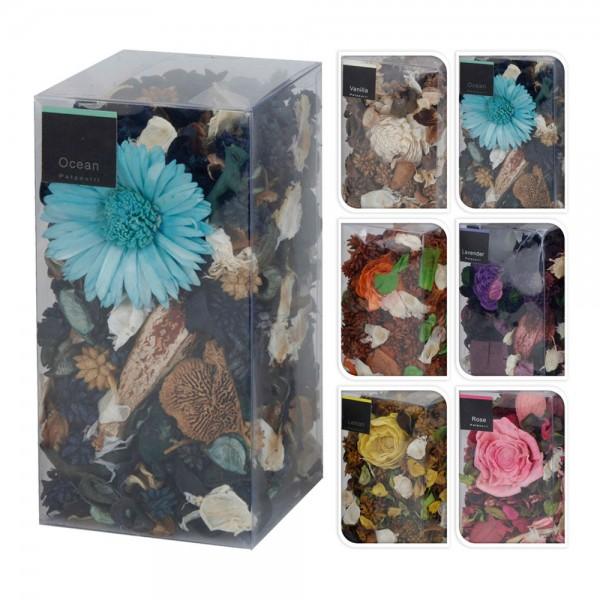 Caja 250 gr flores con aroma modelos varios